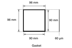 Demonstration Cell Gasket