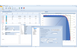 Main window of I-V Tracer software