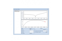 I-V Tracer software (adv. functions)